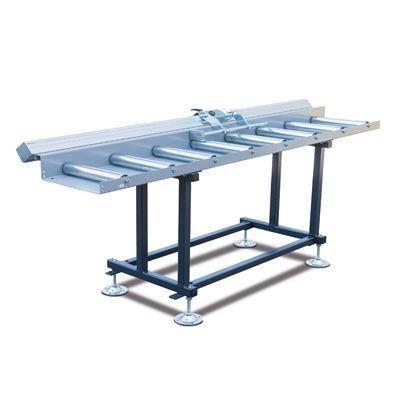 MRB Standard BKF Przenośnik rolkowy z systemem pomiarowym na skali oraz wózkiem oporowym