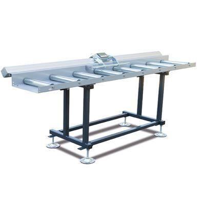 MRB Standard EKF Przenośnik rolkowy z elektronicznym systemem pomiarowym oraz wózkiem oporowym