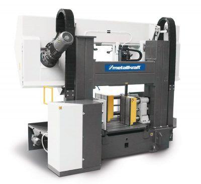 HMBS 850x1000 HA X Półautomatyczna dwukolumnowa pozioma piła taśmowa do metalu z systemem ARP