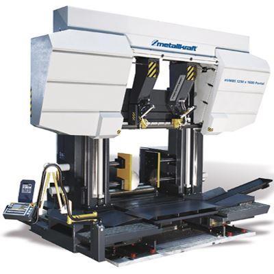 HVMBS 1250 x 1600 Portal Półautomatyczna dwukolumnowa poziomo/pionowa piła taśmowa do metalu