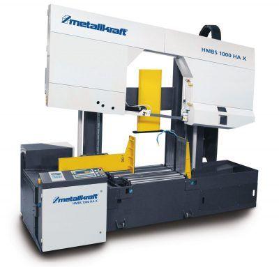 HMBS 1000 HA X Półautomatyczna dwukolumnowa pozioma piła taśmowa do metalu