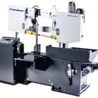 HMBS 400 HA Półautomatyczna dwukolumnowa pozioma piła taśmowa do metalu