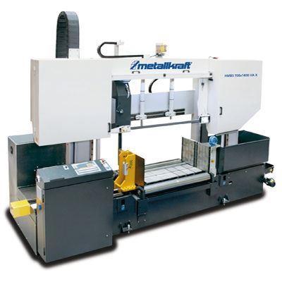 HMBS 700 x 1400 X Półautomatyczna dwukolumnowa pozioma piła taśmowa do metalu z systemem ARP