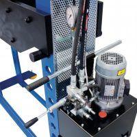 WPP 100 HBK Warsztatowa prasa hydrauliczna METALLKRAFT