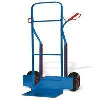 STK Ręczny wózek transportowy do palet z rur stalowych UNICRAFT