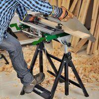 SWT 100 Składany, zaciskany stół roboczy z regulacją wysokości HOLZSTAR