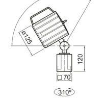 MWG 6-100 Maszynowa lampa LED OPTIMUM