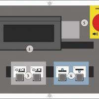 HMBS 600 HA X Półautomatyczna dwukolumnowa pozioma piła taśmowa do metalu METALLKRAFT