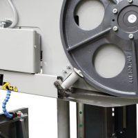 HMBS 500 x 750 HA-DG X Półautomatyczna dwukolumnowa pozioma piła taśmowa do metalu METALLKRAFT
