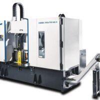 HMBS 700 x 750 HA X Półautomatyczna dwukolumnowa pozioma piła taśmowa do metalu ze sterownikiem SIEMENS