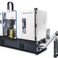 HMBS 700 x 750 HA X Półautomatyczna dwukolumnowa pozioma piła taśmowa do metalu ze sterownikiem SIEMENS METALLKRAFT