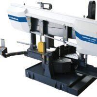 HMBS 600 x 1100 HA-DG X Półautomatyczna hydraulicznie sterowana dwukolumnowa pozioma piła taśmowa do metalu z systemem ARP