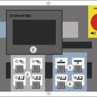 HMBS 400 CNC Automatyczna dwukolumnowa pozioma piła taśmowa do metalu METALLKRAFT