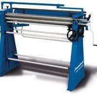 SRWS 1020 KOMBI  Maszyna kombinowana dla dekarzy: zaginarka, walcarka, nożyce rolkowe i zawijarka