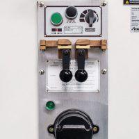 VMBS 3612 E Pionowa piła taśmowa do metalu z przekładnią 2-stopniową i elektrycznym posuwem stołu METALLKRAFT
