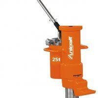 HMH 25 Hydrauliczny podnośnik maszynowy z mechanizmem jezdnym do 25 t UNICRAFT