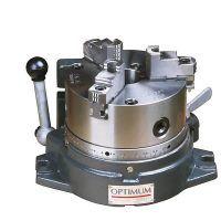 RTU 165 Stół obrotowy poziomy / pionowy z uchwytem 3-szczękowym