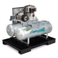 AIRPROFI Duo 853/2x100/10 - Uniwersalna stacja sprężonego powietrza z 2 zbiornikami po 100 l