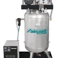 AIRPROFI 703/270/10 VK - Pionowa sprężarka stacjonarna 10 barowa z cynkowanym zbiornikiem AIRCRAFT