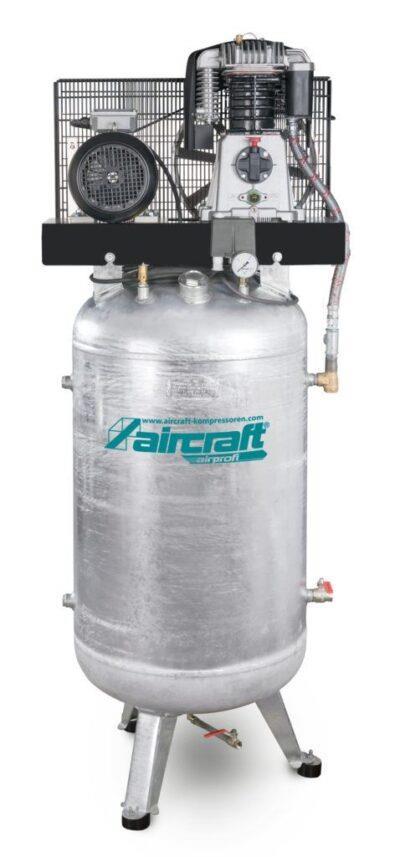 AIRPROFI 853/270/10 V - Pionowa sprężarka stacjonarna 10 barowa z cynkowanym zbiornikiem AIRCRAFT