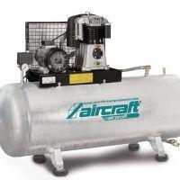 AIRPROFI 853/500/10 H - Pozioma sprężarka stacjonarna 10 barowa z cynkowanym zbiornikiem AIRCRAFT