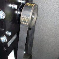 A-MICRO SE 4.0-10-200 K Sprężarka śrubowa z napędem pasowym i osuszaczem chłodniczym AIRCRAFT