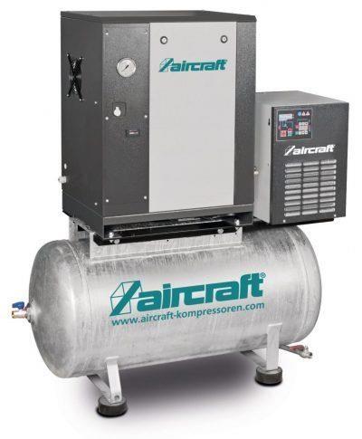 A-MICRO SE 4.0-10-200 K Sprężarka śrubowa z napędem pasowym AIRCRAFT