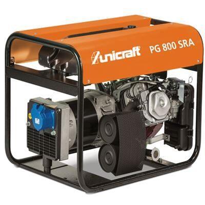 PG 800 SRA  Agregat prądotwórczy UNICRAFT