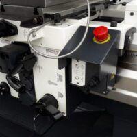 TX5216V Tokarka OPTIMUM z płynną regulacją obrotów oraz odczytem cyfrowym Newall / 400V