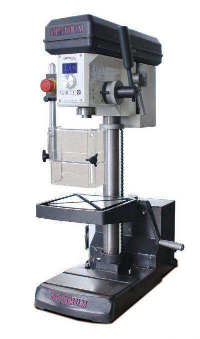 DH18V Wiertarka stołowa z płynną regulacją oraz funkcją gwintowania OPTIMUM / 230V