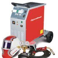 PRO-MIG Synergia 350-4 W SET  Półautomat spawalniczy