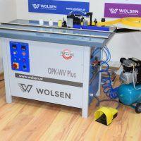 OPK-WV Plus Okleiniarka stacjonarna do elementów prosto i krzywoliniowych WOLSEN