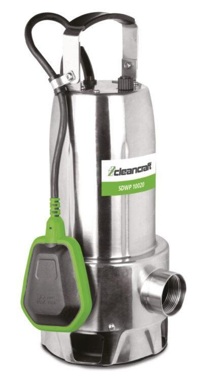 SDWP 10020 Pompa zanurzeniowa do wody brudnej CLEANCRAFT ze stali nierdzewnej