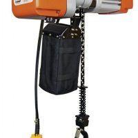 EKZT 5-2 Elektryczna wciągarka łańcuchowa z hakiem do 0,5 t UNICRAFT