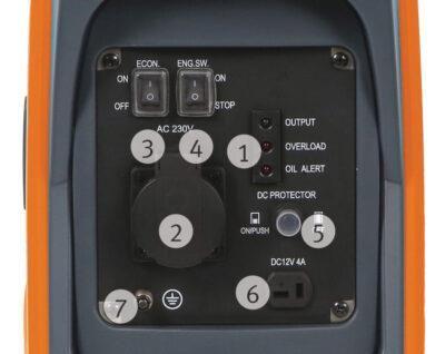 PG-I 12 SR  Inwerterowy agregat prądotwórczy UNICRAFT
