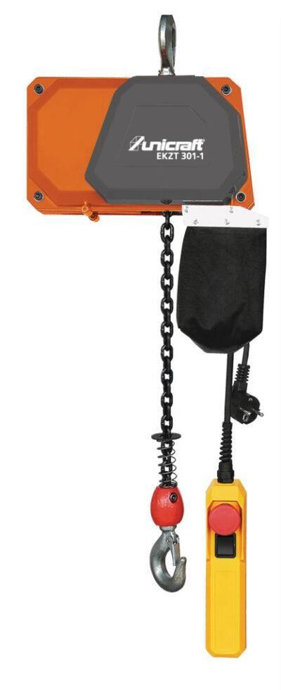 EKZT 301-1 Elektryczna wciągarka łańcuchowa z hakiem do 0,3 t  UNICRAFT