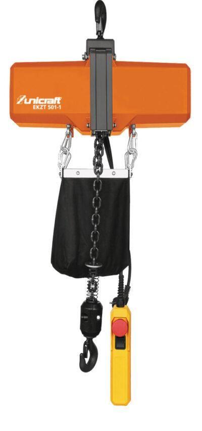 EKZT 501-1 Elektryczna wciągarka łańcuchowa z hakiem do 0,5 t  UNICRAFT