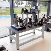 MET-WV 2000 Stół metalowy WOLSEN do prezentacji wiertarek magnetycznych