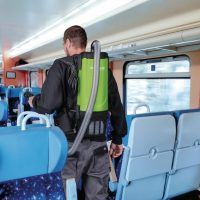 flexCAT 104 Odkurzacz plecakowy CLEANCRAFT
