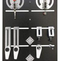 System mocowania zestawu startowego do stołu montażowego i roboczego HOLZKRAFT