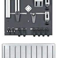 System mocowania zestawu startowego z podstawą HOLZKRAFT