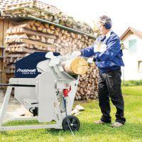 HWSR 702 K Pilarka tarczowa do cięcia drewna z napędem pasowym  HOLZKRAFT