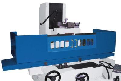 FSM 2550 Precyzyjna szlifierka powierzchniowa dodatkowo: osłona przeciwbryzgową tylna i przednia METALLKRAFT