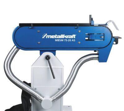 MBSM 75-20 AS Szlifierka taśmowa do metalu z odpylaniem METALLKRAFT / 400V