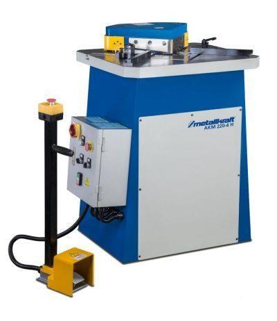 AKM 220-4 H – Hydrauliczna przycinarka do szybkiego, prostokątnego nacinania blachy METALLKRAFT