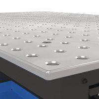 1200 x 800 x 850 mm Stół warsztatowy z 2 szufladami SCHWEIßKRAFT