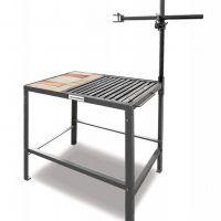 600 x 600 x 800 mm bez szuflady Szkolny stół spawalniczy SCHWEIßKRAFT