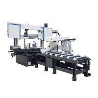 HMBS 440 X 600 NC-DG X BC 2000 Automatyczna dwukolumnowa pozioma piła taśmowa do metalu METALLKRAFT