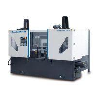 HMBS 4000 CNC X Automatyczna dwukolumnowa pozioma piła taśmowa do metalu METALLKRAFT