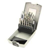 Zestaw do wiercenia i gwintowania HSS 3-12 mm, 15 szt OPTIMUM